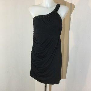 Buffalo David Bitton black 1 shoulder dress size m